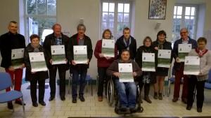 Remise des panneaux de prévention aux communes de la région d'Alençon