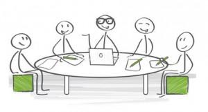 réunion de travail bis