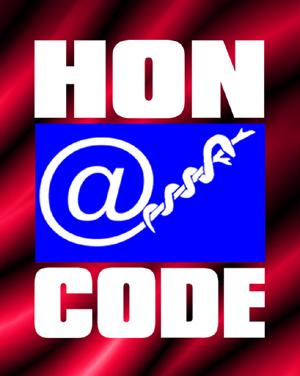 Ce site respecte les principes de la charte HONcode.