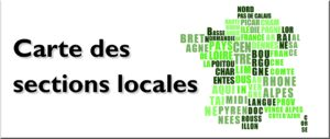 Carte Des Sections Locales